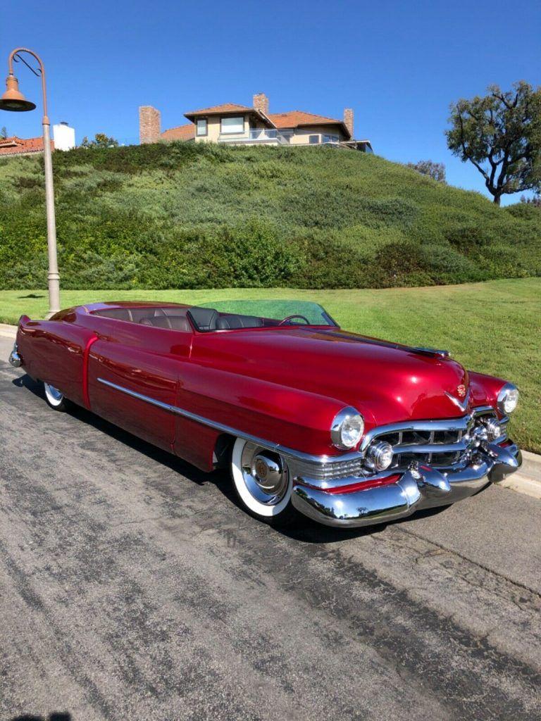 custom 1951 Cadillac Convertible