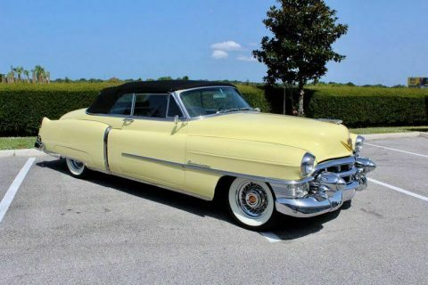 fantastic 1953 Cadillac Series 62 convertible for sale