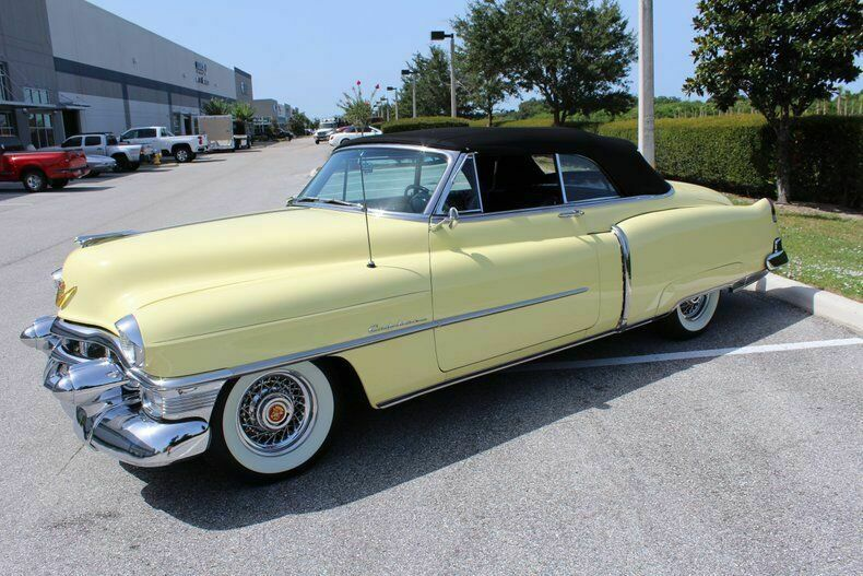 fantastic 1953 Cadillac Series 62 convertible