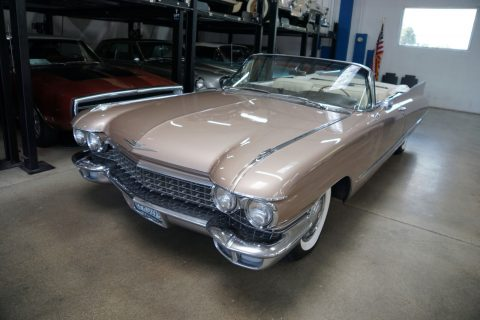 highly optioned 1960 Cadillac Series 62 Convertible for sale
