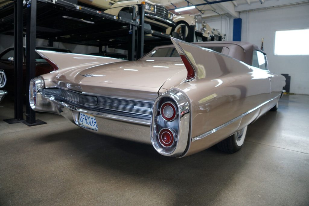 highly optioned 1960 Cadillac Series 62 Convertible
