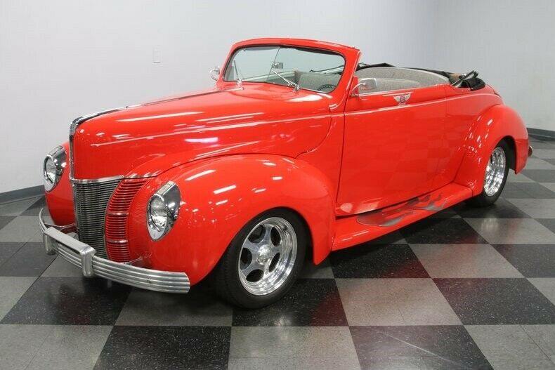 sharp 1940 Ford Deluxe Convertible for sale