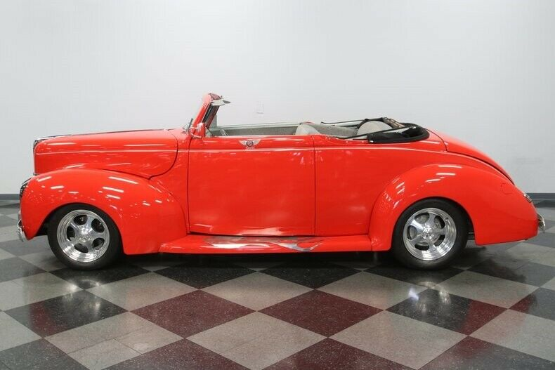 sharp 1940 Ford Deluxe Convertible