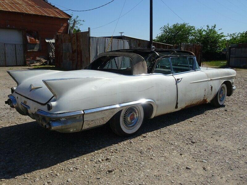 stored since 1966 1957 Cadillac Eldorado BIARRITZ convertible