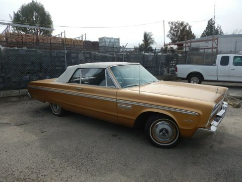 great cruiser 1965 Plymouth Fury Convertible for sale