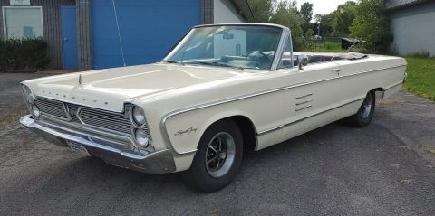 great running 1966 Plymouth Fury Convertible for sale