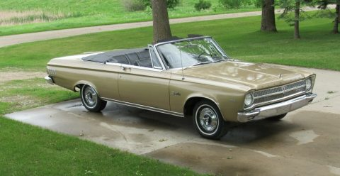 very nice 1965 Plymouth Satellite convertible for sale